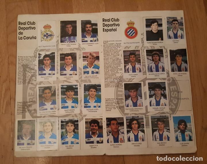 Coleccionismo deportivo: Liga Fútbol 91-92 - Bimbo - con 15 cromos dobles Completo a falta de 9 cromos - Foto 5 - 156464886