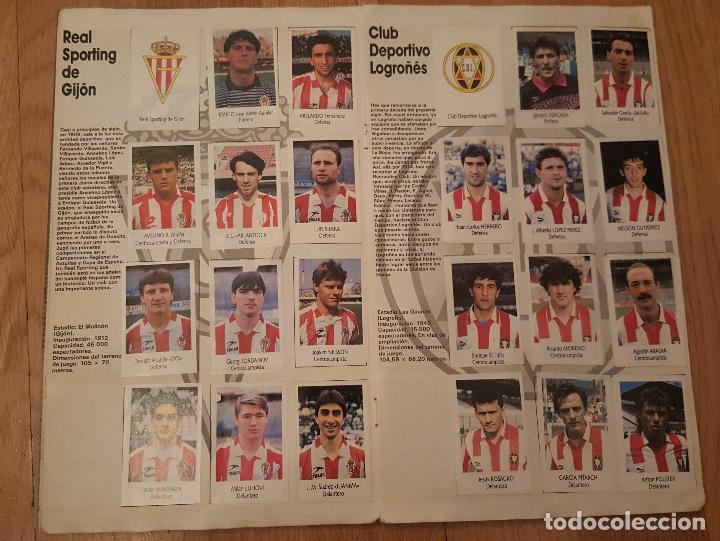 Coleccionismo deportivo: Liga Fútbol 91-92 - Bimbo - con 15 cromos dobles Completo a falta de 9 cromos - Foto 6 - 156464886