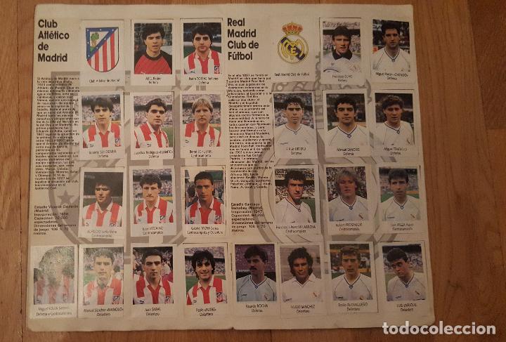 Coleccionismo deportivo: Liga Fútbol 91-92 - Bimbo - con 15 cromos dobles Completo a falta de 9 cromos - Foto 7 - 156464886