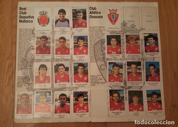 Coleccionismo deportivo: Liga Fútbol 91-92 - Bimbo - con 15 cromos dobles Completo a falta de 9 cromos - Foto 8 - 156464886