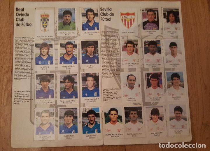Coleccionismo deportivo: Liga Fútbol 91-92 - Bimbo - con 15 cromos dobles Completo a falta de 9 cromos - Foto 9 - 156464886