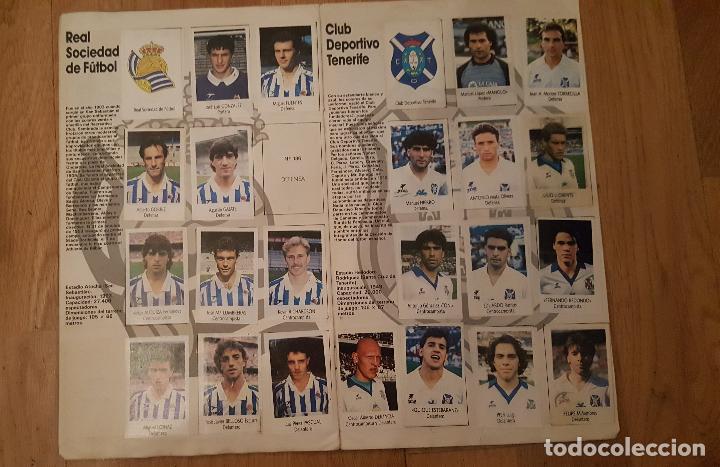 Coleccionismo deportivo: Liga Fútbol 91-92 - Bimbo - con 15 cromos dobles Completo a falta de 9 cromos - Foto 10 - 156464886