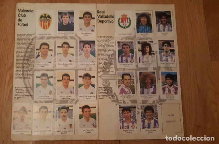 Coleccionismo deportivo: Liga Fútbol 91-92 - Bimbo - con 15 cromos dobles Completo a falta de 9 cromos - Foto 11 - 156464886