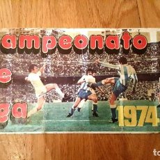 Coleccionismo deportivo: ALBUM FÚTBOL CAMPEONATO DE LIGA 1974 74 / 75 PIPAS TOSTAVAL GRAELL AÑOS 70. COMPLETO A FALTA DE 5. Lote 156466146