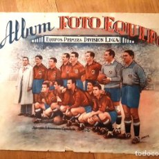 Coleccionismo deportivo: FUTBOL - ALBUM FOTO EQUIPO PRIMERA DIVISION ED. EXCLUSIVAS GARDA AÑO 1949. Lote 156649034