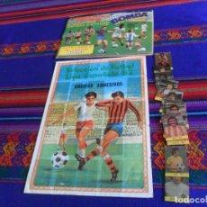 Coleccionismo deportivo: SELECCIÓN DE FÚTBOL LIGA ESPAÑOLA 82 INCOMPLETO MATEO MIRETE. REGALO ÁLBUM 1ª DIVISIÓN 79 80 PRONTO.. Lote 156733906
