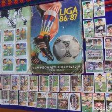 Coleccionismo deportivo: ESTE LIGA 1986 1987 86 87 Y 89 90 1989 1990 INCOMPLETO. REGALO 37 CROMO NUNCA PEGADO COLOCA FICHAJE.. Lote 156735258