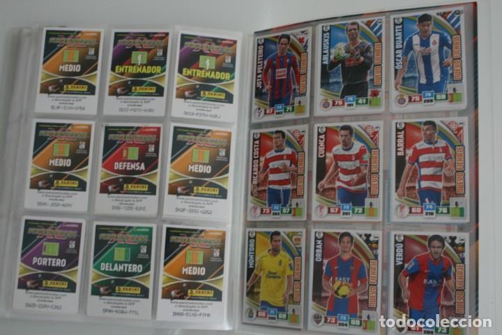Coleccionismo deportivo: ALBUM CROMOS ESTAMPAS FUTBOL ADRENALYN 2015-16 LIGA BBVA TRADING CARD GAME PANINI LFP WORLD CHALLENG - Foto 5 - 156795682