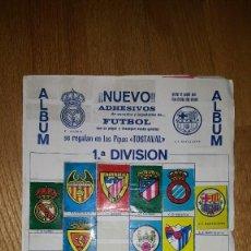 Coleccionismo deportivo: ALBUM INCOMPLETO LIGA 68 - 69 PIPAS TOSTAVAL. Lote 157197806