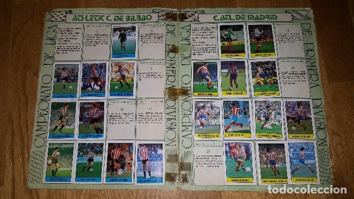 Coleccionismo deportivo: ALBUM FUTBOL 1985 / 86. CAMPEONATO DE LIGA. EDITORIAL LISEL + 42 CROMOS DOBLES NO PEGADOS EN EL ALBU - Foto 2 - 80073265