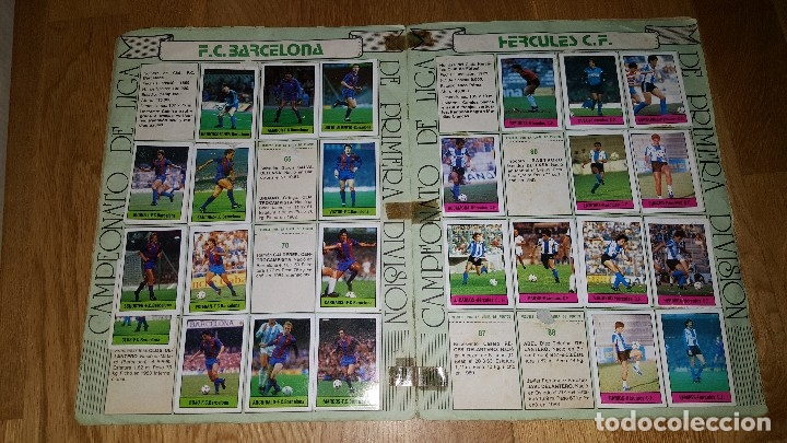 Coleccionismo deportivo: ALBUM FUTBOL 1985 / 86. CAMPEONATO DE LIGA. EDITORIAL LISEL + 42 CROMOS DOBLES NO PEGADOS EN EL ALBU - Foto 4 - 80073265