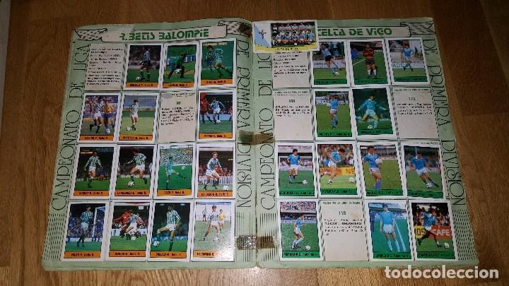 Coleccionismo deportivo: ALBUM FUTBOL 1985 / 86. CAMPEONATO DE LIGA. EDITORIAL LISEL + 42 CROMOS DOBLES NO PEGADOS EN EL ALBU - Foto 5 - 80073265