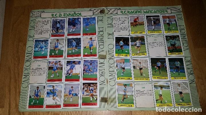 Coleccionismo deportivo: ALBUM FUTBOL 1985 / 86. CAMPEONATO DE LIGA. EDITORIAL LISEL + 42 CROMOS DOBLES NO PEGADOS EN EL ALBU - Foto 6 - 80073265