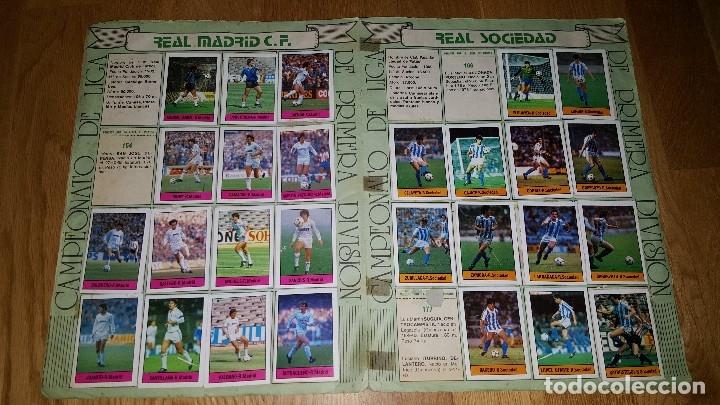 Coleccionismo deportivo: ALBUM FUTBOL 1985 / 86. CAMPEONATO DE LIGA. EDITORIAL LISEL + 42 CROMOS DOBLES NO PEGADOS EN EL ALBU - Foto 7 - 80073265