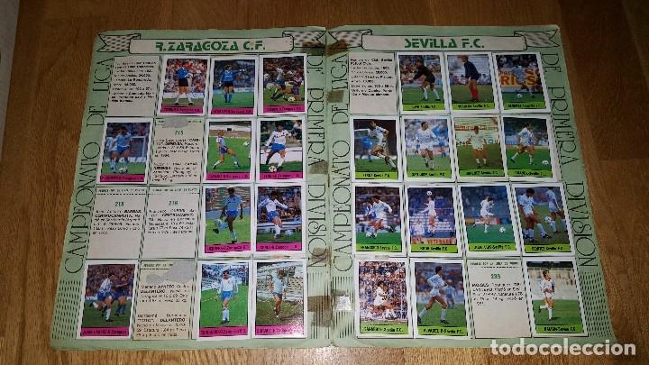 Coleccionismo deportivo: ALBUM FUTBOL 1985 / 86. CAMPEONATO DE LIGA. EDITORIAL LISEL + 42 CROMOS DOBLES NO PEGADOS EN EL ALBU - Foto 9 - 80073265