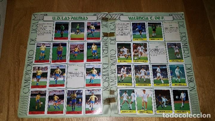 Coleccionismo deportivo: ALBUM FUTBOL 1985 / 86. CAMPEONATO DE LIGA. EDITORIAL LISEL + 42 CROMOS DOBLES NO PEGADOS EN EL ALBU - Foto 10 - 80073265