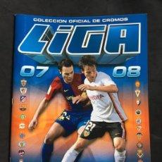 Coleccionismo deportivo: ALBUM VACIO DE CROMOS DE LA LIGA DE FUTBOL 2007 2008 07/08 EDICIONES ESTE. Lote 158200362