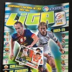 Coleccionismo deportivo: ALBUM DE CROMOS DE FUTBOL VACIO LIGA 2013 2014 13/14 EDICIONES ESTE MÁS 47 CROMOS. Lote 158213022