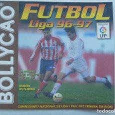 Coleccionismo deportivo: ALBUM DE PEGATINAS DE BOLLYCAO DE FUTBOL, LIGA 1996 - 97. CON 47 CROMOS PEGADOS. Lote 158423450