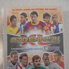 Coleccionismo deportivo: ADRENALYN 2010-11. TRADING CARD GAME. LIGA BBVA. PANINI. EL GRAN JUEGO DEL FUTBOL DE PANINI. ALBUM C. Lote 159136438