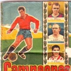 Coleccionismo deportivo: ÁLBUM CAMPEONES 1958 DE BRUGUERA. Lote 159268514