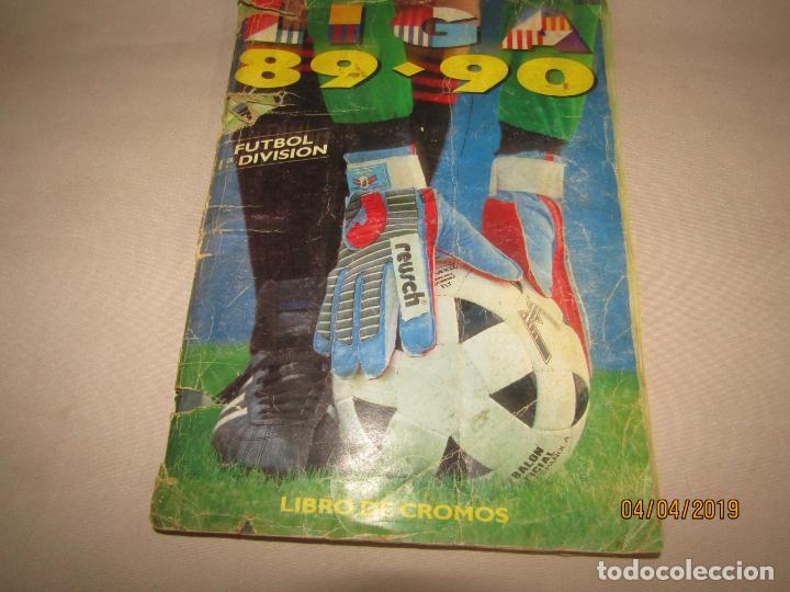 ANTIGUO ALBUM DE FUTBOL 1ª DIVISIÓN LIGA 89 - 90 DE EDICIONES ESTE (Coleccionismo Deportivo - Álbumes y Cromos de Deportes - Álbumes de Fútbol Incompletos)