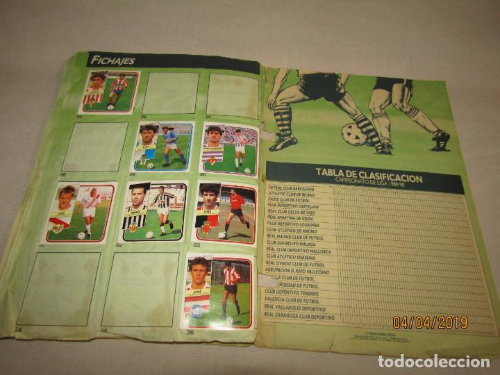 Coleccionismo deportivo: Antiguo Album de Futbol 1ª División LIGA 89 - 90 de Ediciones ESTE - Foto 2 - 159364202