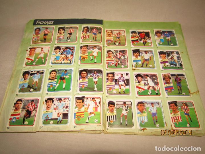 Coleccionismo deportivo: Antiguo Album de Futbol 1ª División LIGA 89 - 90 de Ediciones ESTE - Foto 3 - 159364202