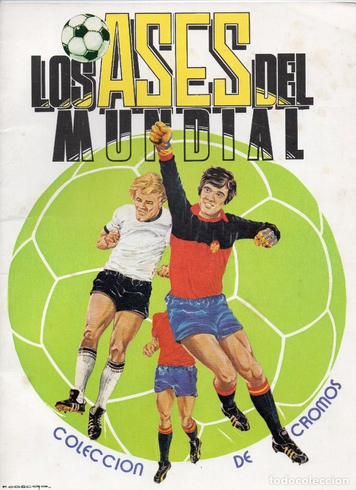 ALBUM LOS ASES DEL MUNDIAL 1982,DE EDICIONES VENLICO,ALBUM VACIO Y NUEVO (Coleccionismo Deportivo - Álbumes y Cromos de Deportes - Álbumes de Fútbol Incompletos)