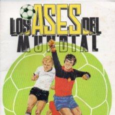 Coleccionismo deportivo: ALBUM LOS ASES DEL MUNDIAL 1982,DE EDICIONES VENLICO,ALBUM VACIO Y NUEVO. Lote 159492666