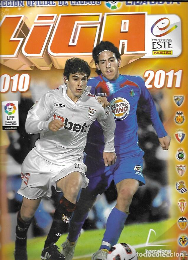 LIGA 2010-2011. COLECCIONES ESTE/PANINI. 112 CROMOS (Coleccionismo Deportivo - Álbumes y Cromos de Deportes - Álbumes de Fútbol Incompletos)