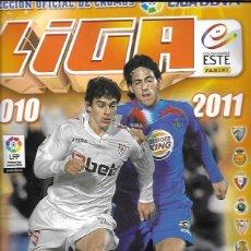 Coleccionismo deportivo: LIGA 2010-2011. COLECCIONES ESTE/PANINI. 112 CROMOS. Lote 159528320