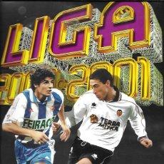 Coleccionismo deportivo: LIGA 2000-2001. COLECCIONES ESTE. MUY POCOS CROMOS Y ALGUNOS FICHAJES MAL COLOCADOS. Lote 159530362