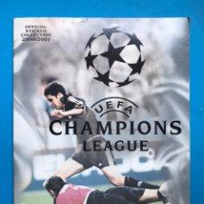 Coleccionismo deportivo: ALBUM CROMOS - UEFA CHAMPIONS LEAGUE 2000-2001 - PANINI - VER DESCRIPCION Y FOTOS. Lote 159669170