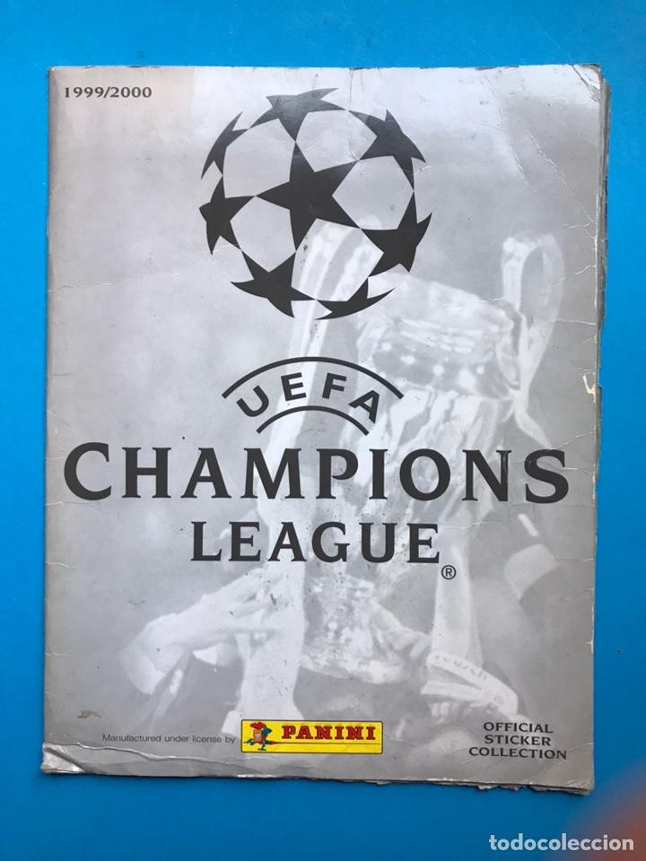 ALBUM CROMOS - UEFA CHAMPIONS LEAGUE 1999-2000 - PANINI - VER DESCRIPCION Y FOTOS (Coleccionismo Deportivo - Álbumes y Cromos de Deportes - Álbumes de Fútbol Incompletos)