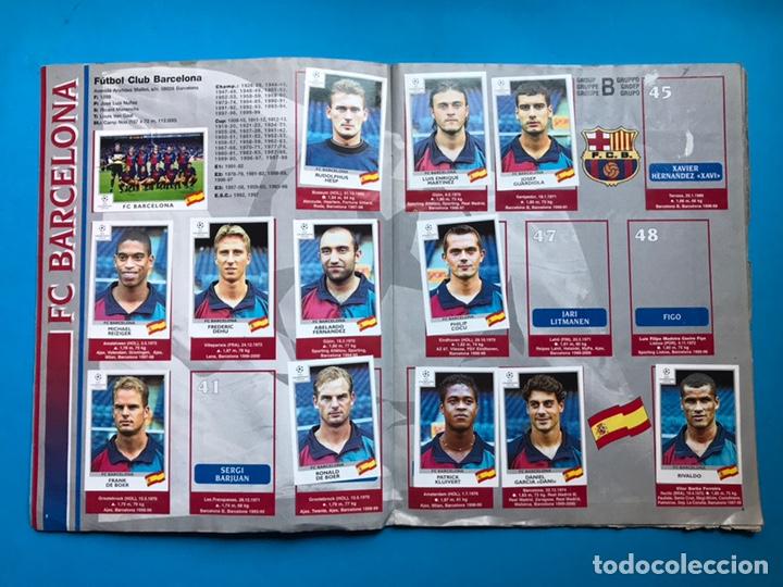 Coleccionismo deportivo: ALBUM CROMOS - UEFA CHAMPIONS LEAGUE 1999-2000 - PANINI - VER DESCRIPCION Y FOTOS - Foto 4 - 159669558