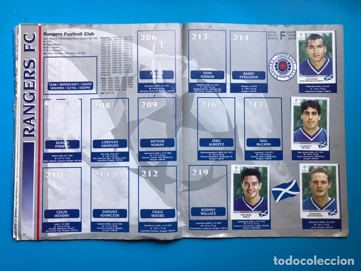 Coleccionismo deportivo: ALBUM CROMOS - UEFA CHAMPIONS LEAGUE 1999-2000 - PANINI - VER DESCRIPCION Y FOTOS - Foto 15 - 159669558