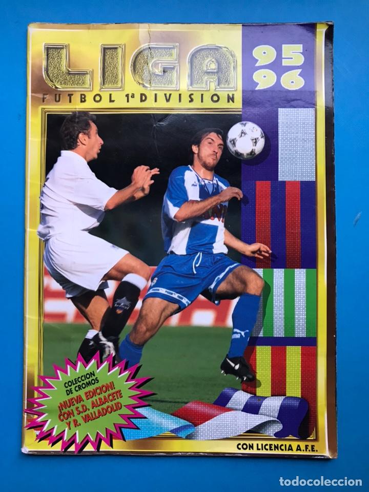 ALBUM CROMOS - LIGA 1995-1996 95-96 - ED. ESTE - VER DESCRIPCION Y FOTOS (Coleccionismo Deportivo - Álbumes y Cromos de Deportes - Álbumes de Fútbol Incompletos)