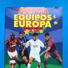 Coleccionismo deportivo: ALBUM CROMOS - LOS MEJORES EQUIPOS DE EUROPA 1997-1998 - PANINI - VER DESCRIPCION Y FOTOS. Lote 159677098
