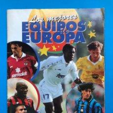 Coleccionismo deportivo: ALBUM CROMOS - LOS MEJORES EQUIPOS DE EUROPA 1996-1997 - PANINI - VER DESCRIPCION Y FOTOS. Lote 159677910