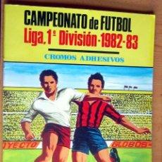 Coleccionismo deportivo: CAMPEONATO DE FUTBOL 1 DIVISION 1982-83 MIRETE CON 216 CROMOS ALBUM EN BUEN ESTADO. Lote 160010114