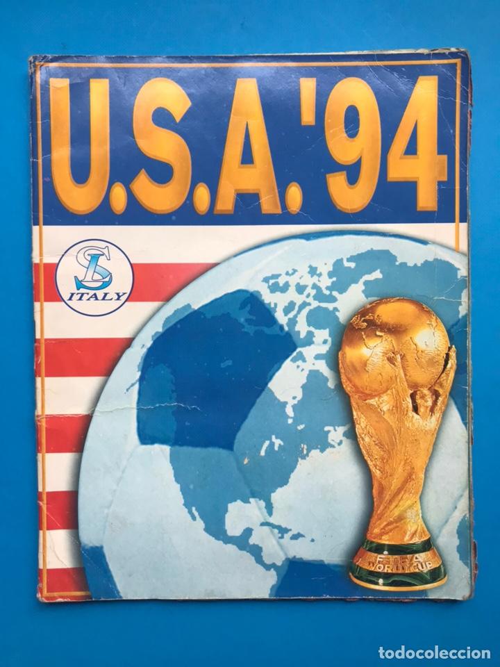 ALBUM CROMOS - MUNDIAL DE FUTBOL USA 94 - SL ITALY - VER DESCRIPCION Y FOTOS (Coleccionismo Deportivo - Álbumes y Cromos de Deportes - Álbumes de Fútbol Incompletos)