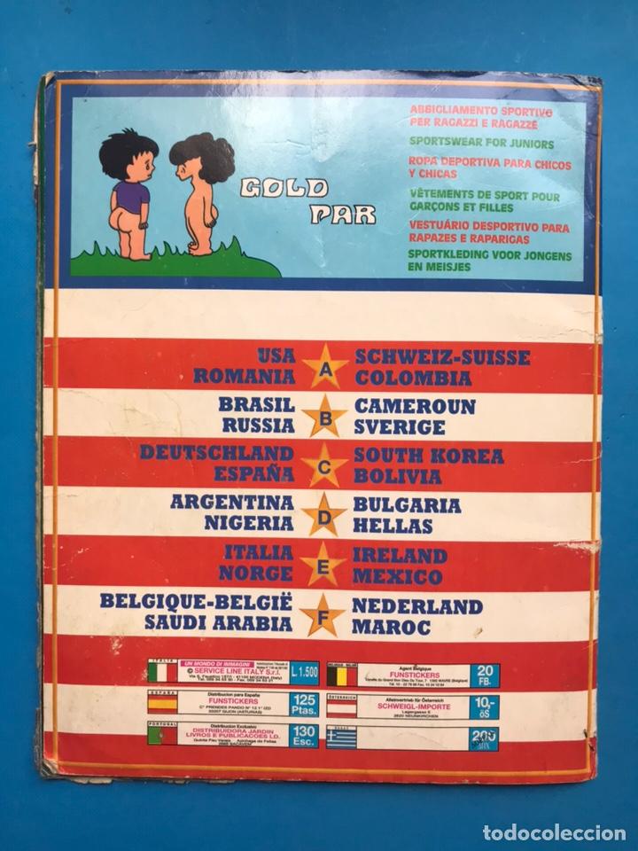 Coleccionismo deportivo: ALBUM CROMOS - MUNDIAL DE FUTBOL USA 94 - SL ITALY - VER DESCRIPCION Y FOTOS - Foto 22 - 160019526