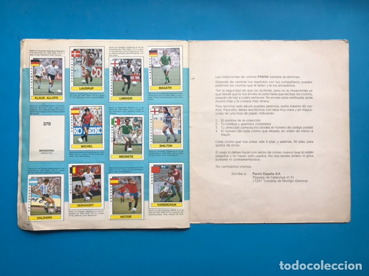 Coleccionismo deportivo: ALBUM CROMOS - FUTBOL 87 - PANINI - VER DESCRIPCION Y FOTOS - Foto 24 - 160075082