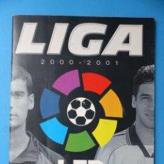 Coleccionismo deportivo: ALBUM CROMOS - LIGA 2000-2001 00-01 - ED. ESTE - VER DESCRIPCION Y FOTOS. Lote 160280830