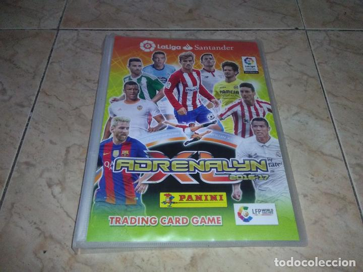 ALBUM FUTBOL ADRENALYN 2016 2017 VACIO TRADING CARDS (Coleccionismo Deportivo - Álbumes y Cromos de Deportes - Álbumes de Fútbol Incompletos)