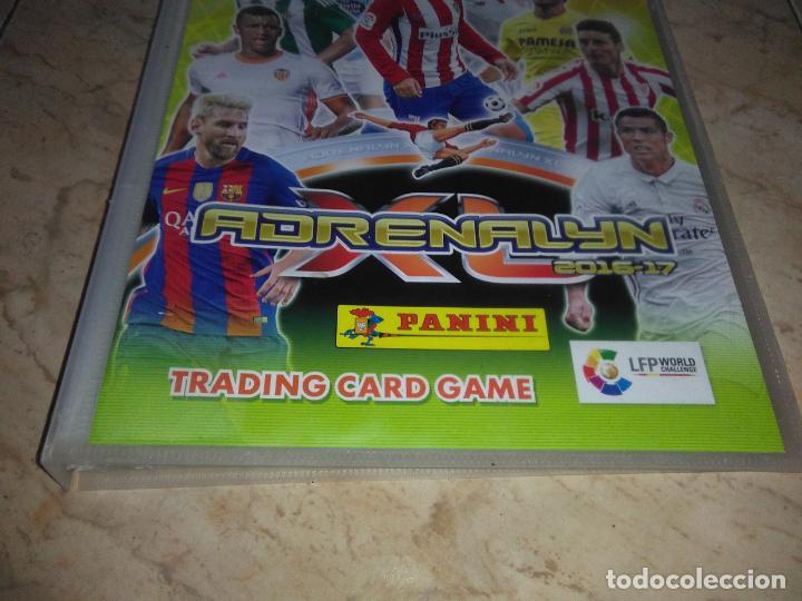 Coleccionismo deportivo: Album futbol Adrenalyn 2016 2017 vacio trading cards - Foto 3 - 160363958