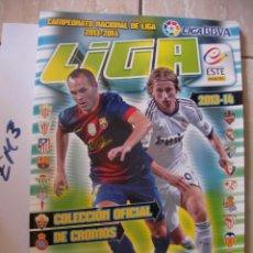Coleccionismo deportivo: ALBUM FUTBOL INCOMPLETO (POCOS CROMOS). Lote 160417286