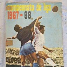 Coleccionismo deportivo: ALBUM DISGRA CAMPEONATO LIGA 1967-1968, SOLO FALTAN ESCUDOS. Lote 160436090