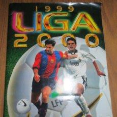 Coleccionismo deportivo: ALBUM CROMOS FUTBOL LIGA 1999-2000 ESTE CON 551 CROMOS. Lote 160617570